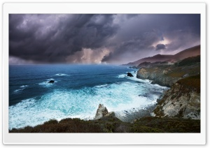 Stormy Clouds HD Wide Wallpaper for Widescreen