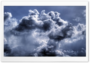 Stormy Clouds Sky HD Wide Wallpaper for Widescreen
