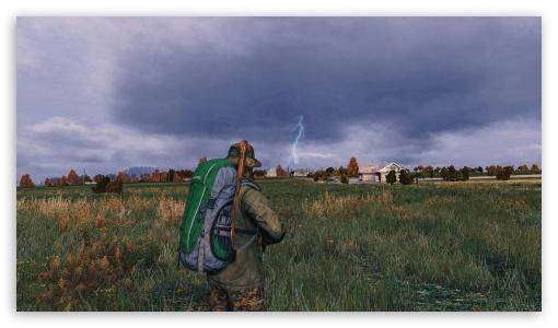 Stormy Evening In Dayz Ultra Hd Desktop Background Wallpaper