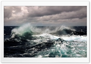 Stormy Ocean HD Wide Wallpaper for 4K UHD Widescreen desktop & smartphone