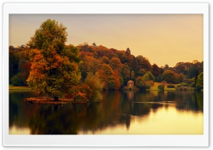 Stourhead, Wiltshire, England HD Wide Wallpaper for Widescreen