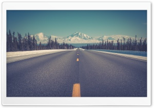 Straight Road HD Wide Wallpaper for Widescreen