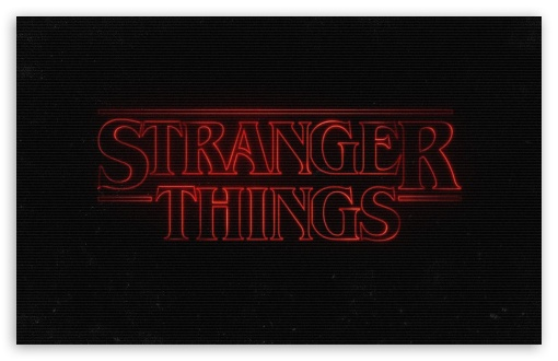 Stranger Things Ultra Hd Desktop Background Wallpaper For 4k
