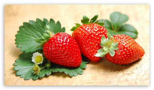 Strawberries UltraHD Wallpaper for 8K UHD TV 16:9 Ultra High Definition 2160p 1440p 1080p 900p 720p ;