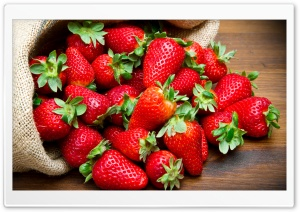 Strawberries Fruits HD Wide Wallpaper for Widescreen