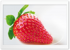 Strawberry HD Wide Wallpaper for 4K UHD Widescreen desktop & smartphone