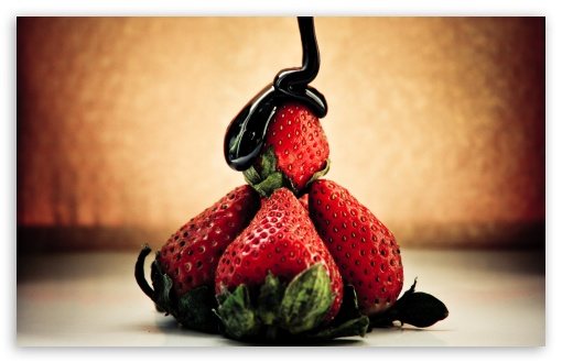 Strawberry And Chocolate HD wallpaper for Wide 16:10 5:3 Widescreen WHXGA WQXGA WUXGA WXGA WGA ; HD 16:9 High Definition WQHD QWXGA 1080p 900p 720p QHD nHD ; Standard 4:3 5:4 3:2 Fullscreen UXGA XGA SVGA QSXGA SXGA DVGA HVGA HQVGA devices ( Apple PowerBook G4 iPhone 4 3G 3GS iPod Touch ) ; Tablet 1:1 ; iPad 1/2/Mini ; Mobile 4:3 5:3 3:2 16:9 5:4 - UXGA XGA SVGA WGA DVGA HVGA HQVGA devices ( Apple PowerBook G4 iPhone 4 3G 3GS iPod Touch ) WQHD QWXGA 1080p 900p 720p QHD nHD QSXGA SXGA ;