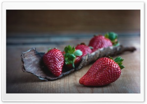 Strawberry Fruit HD Wide Wallpaper for Widescreen