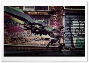 Street Art HD Wide Wallpaper for Widescreen