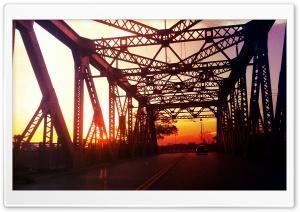 Street bridge HD Wide Wallpaper for Widescreen