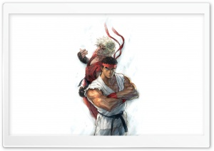 Street Fighter 4 Ryu HD Wide Wallpaper for Widescreen