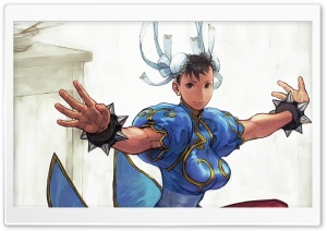 Street Fighter Chun Li HD Wide Wallpaper for 4K UHD Widescreen desktop & smartphone