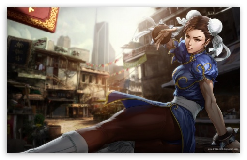 Download Street Fighter Chun Li Hd Wallpaper Wallpapers