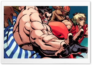 Street Fighter Hyper HD Wide Wallpaper for 4K UHD Widescreen desktop & smartphone