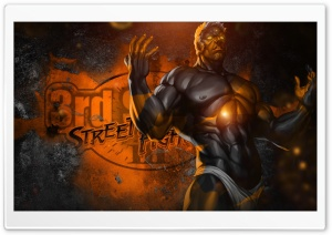 Street Fighter III - Urien HD Wide Wallpaper for Widescreen