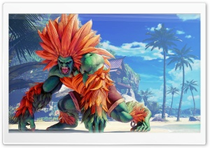 Street Fighter V Blanka HD Wide Wallpaper for 4K UHD Widescreen desktop & smartphone