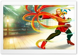 Street Fighter V Karin 2016 Video Game HD Wide Wallpaper for 4K UHD Widescreen desktop & smartphone