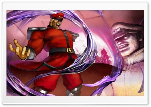 Street Fighter V M. Bison 2016 Video Game HD Wide Wallpaper for Widescreen
