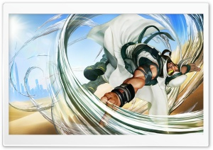 Street Fighter V Rashid 2016 Video Game Ultra HD Wallpaper for 4K UHD Widescreen desktop, tablet & smartphone