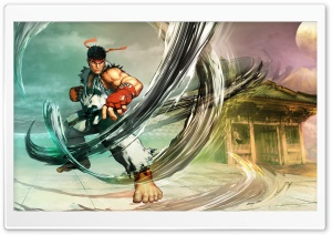 Street Fighter V Ryu 2016 Video Game HD Wide Wallpaper for Widescreen