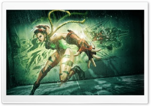 Street Fighter X Tekken (2012) Cammy HD Wide Wallpaper for Widescreen