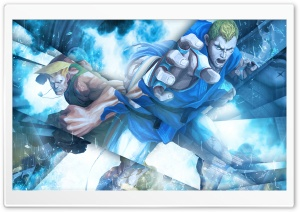 Street Fighter X Tekken - Guile  Abel HD Wide Wallpaper for 4K UHD Widescreen desktop & smartphone