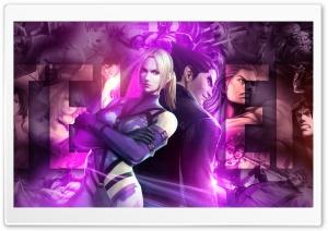 Street Fighter X Tekken - Kazuya  Nina HD Wide Wallpaper for Widescreen