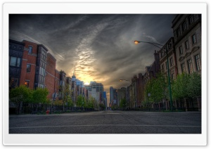 Street HDR HD Wide Wallpaper for Widescreen