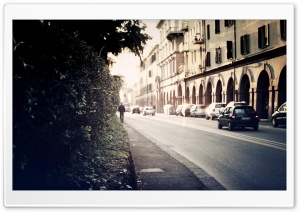 Street In Italy HD Wide Wallpaper for Widescreen