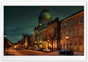 Street Night HD Wide Wallpaper for Widescreen