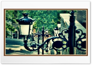 Streets of old Plovdiv HD Wide Wallpaper for Widescreen