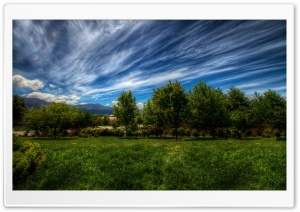 Strings Of Clouds HD Wide Wallpaper for Widescreen