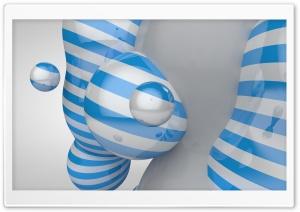 Striped Spheres Ultra HD Wallpaper for 4K UHD Widescreen desktop, tablet & smartphone