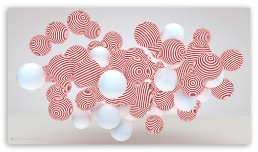 Stripes Balls ❤ 4K UHD Wallpaper for 4K UHD 16:9 Ultra High Definition 2160p 1440p 1080p 900p 720p ; Mobile 16:9 - 2160p 1440p 1080p 900p 720p ;
