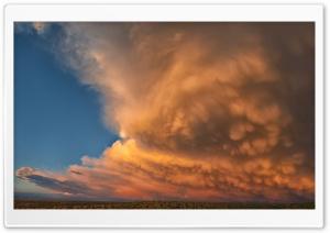 Stunning Sunset Clouds Ultra HD Wallpaper for 4K UHD Widescreen desktop, tablet & smartphone