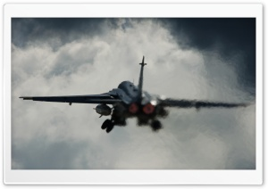 SU-24 Takeoff Ultra HD Wallpaper for 4K UHD Widescreen desktop, tablet & smartphone