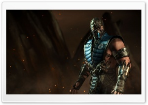 Sub Zero, Mortal Kombat X HD Wide Wallpaper for Widescreen