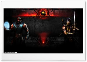Sub-Zero V.S. Scorpion HD Wide Wallpaper for Widescreen