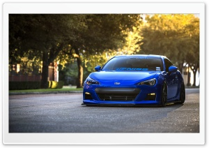 Subaru BRZ 1 HD Wide Wallpaper for Widescreen