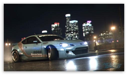 Subaru Brz Need For Speed Ultra Hd Desktop Background Wallpaper