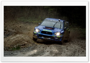 Subaru Impreza Rally HD Wide Wallpaper for Widescreen