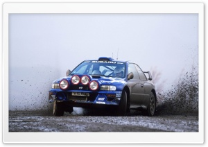 Subaru Impreza Rally Car HD Wide Wallpaper for Widescreen