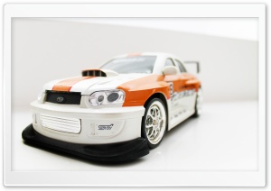 Subaru Remote Control Car Racer HD Wide Wallpaper for Widescreen