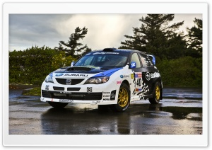 Subaru STI Rally Car HD Wide Wallpaper for Widescreen