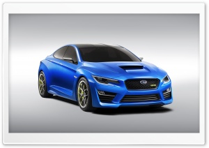 Subaru WRX Concept - 2013 HD Wide Wallpaper for Widescreen