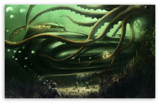 Submarine Underwater Painting HD wallpaper for Wide 16:10 5:3 Widescreen WHXGA WQXGA WUXGA WXGA WGA ; HD 16:9 High Definition WQHD QWXGA 1080p 900p 720p QHD nHD ; UHD 16:9 WQHD QWXGA 1080p 900p 720p QHD nHD ; Standard 4:3 5:4 3:2 Fullscreen UXGA XGA SVGA QSXGA SXGA DVGA HVGA HQVGA devices ( Apple PowerBook G4 iPhone 4 3G 3GS iPod Touch ) ; iPad 1/2/Mini ; Mobile 4:3 5:3 3:2 16:9 5:4 - UXGA XGA SVGA WGA DVGA HVGA HQVGA devices ( Apple PowerBook G4 iPhone 4 3G 3GS iPod Touch ) WQHD QWXGA 1080p 900p 720p QHD nHD QSXGA SXGA ;