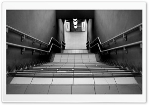Subway Stairs HD Wide Wallpaper for Widescreen