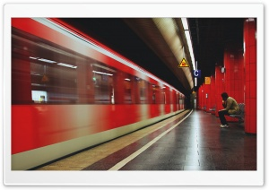 Subway Station HD Wide Wallpaper for 4K UHD Widescreen desktop & smartphone