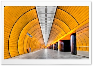 Subway Tunnel HD Wide Wallpaper for 4K UHD Widescreen desktop & smartphone
