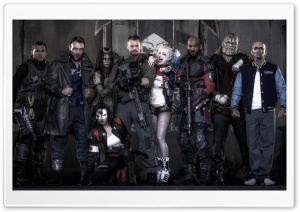 Suicide Squad 2016 Movie HD Wide Wallpaper for Widescreen